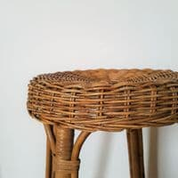 Cane and Bamboo Stool